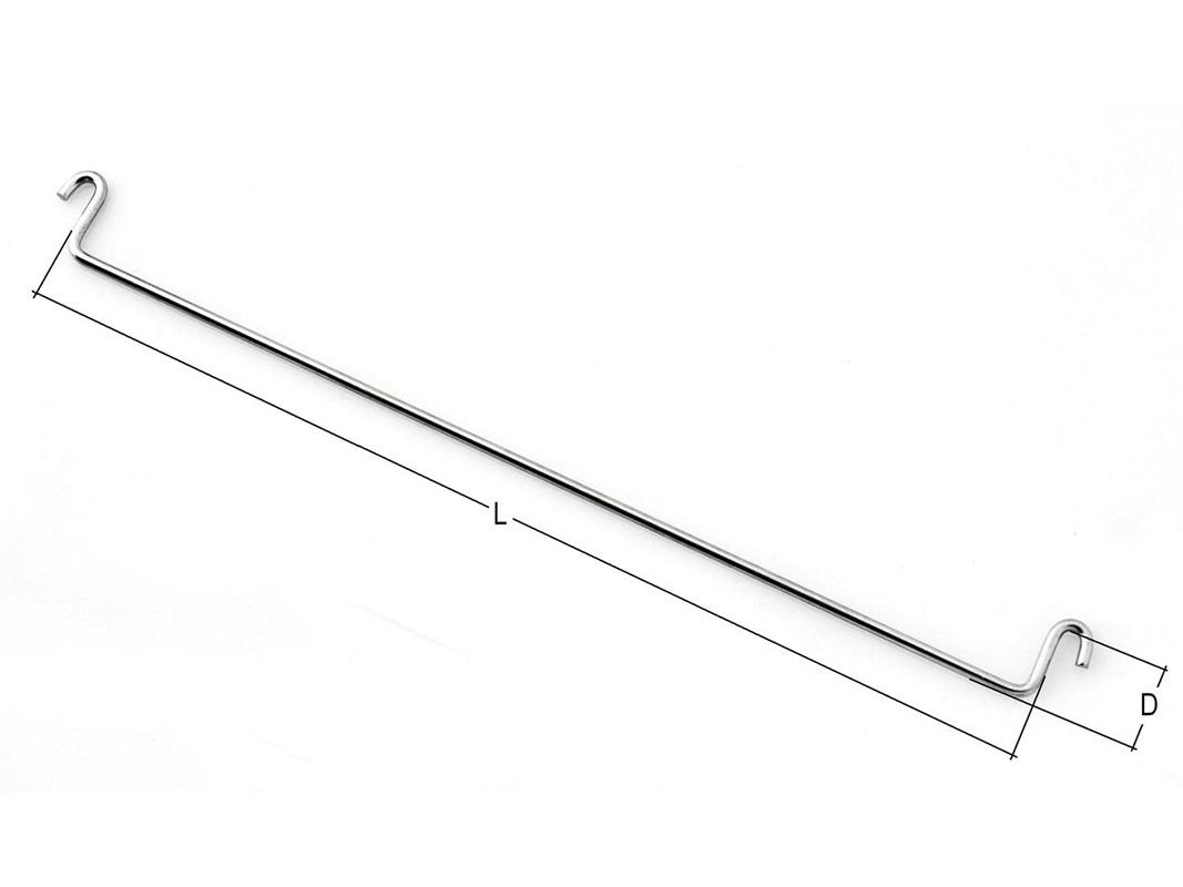 Saxstöd 450x16x 3,5