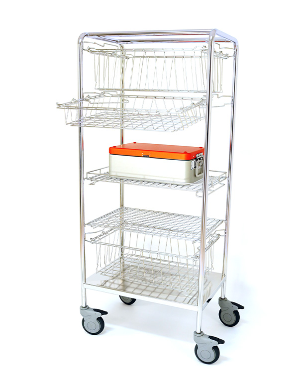 Stacking trolley